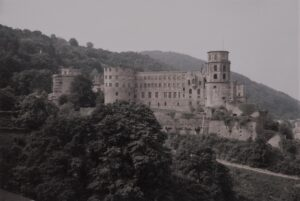The famous Schloss Heidelberg